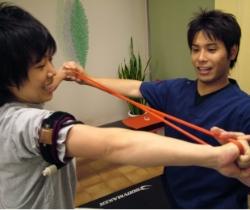 横浜・関内整体院の加圧トレーニング